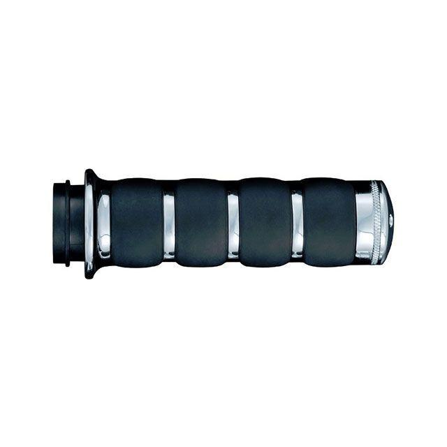 送料無料 クリアキン XG750 ストリート750 グリップ関連パーツ ISO グリップ クローム