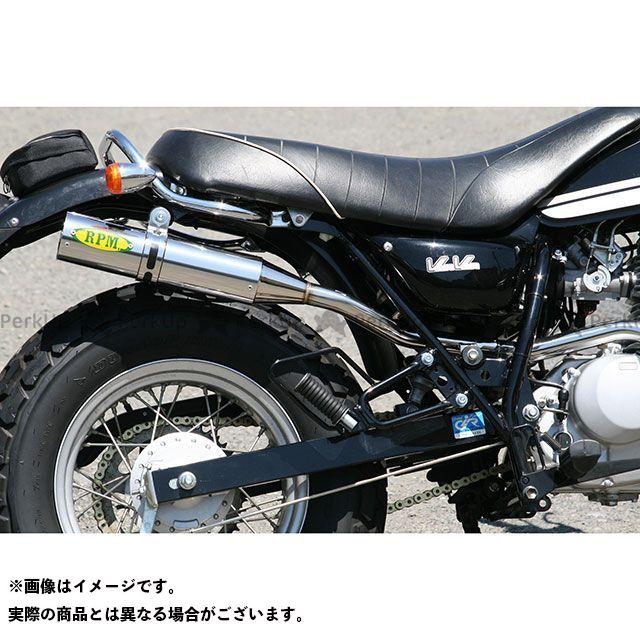 【エントリーで最大P23倍】RPM バンバン200 RPM-250Single フルエキゾーストマフラー(ステンレス) アールピーエム