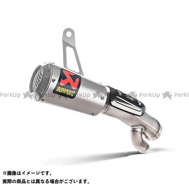 【エントリーで更にP5倍】アクラポビッチ S1000RR スリップオンマフラー MOTO-GP STYLE(チタン) Euro4対応 AKRAPOVIC