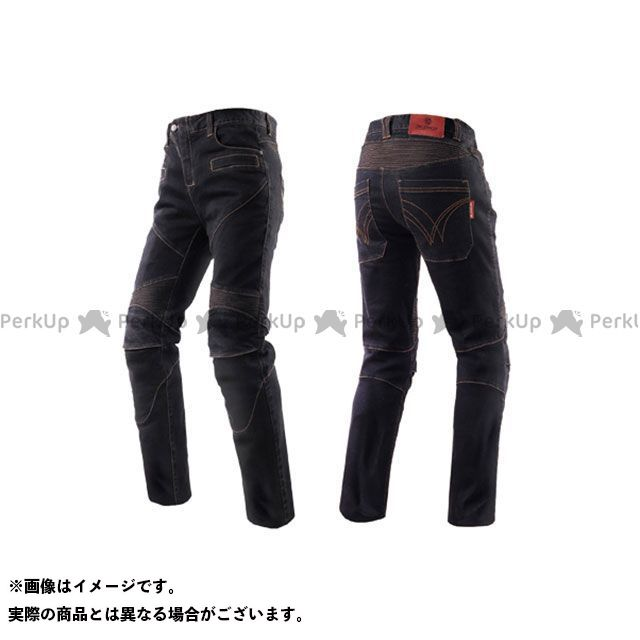スコイコ P043 KNIGHT ライディングジーンズ カラー:ブラック サイズ:L SCOYCO