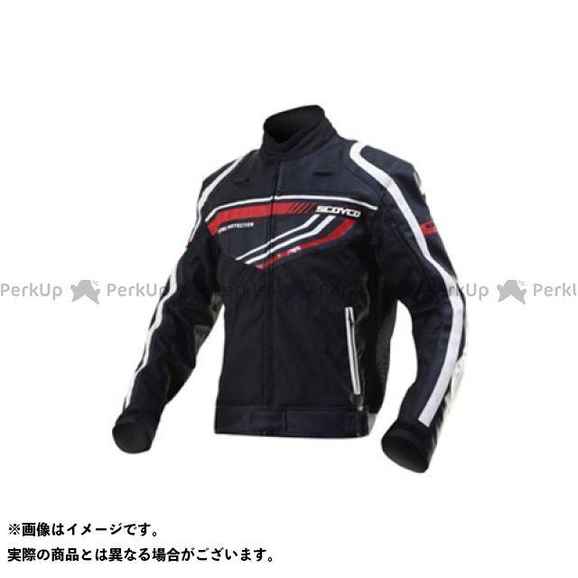 送料無料 スコイコ SCOYCO ジャケット JK37 FIERCE WIND 3シーズンジャケット(ブラック) L