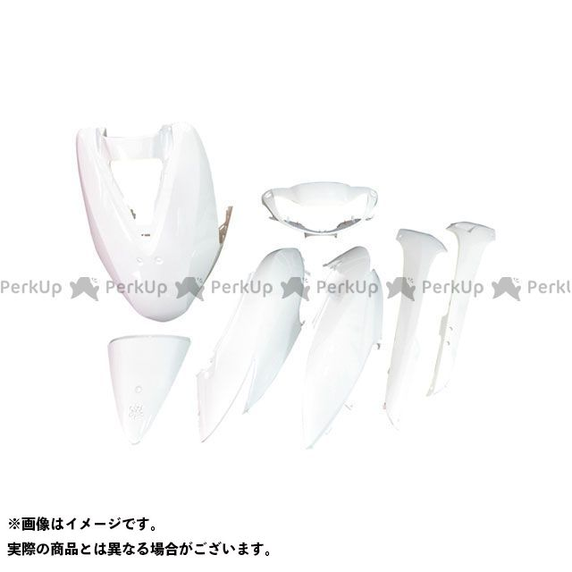 スーパーバリュー ディオ DIO AF62/AF68 外装7点セット カラー:ホワイト supervalue