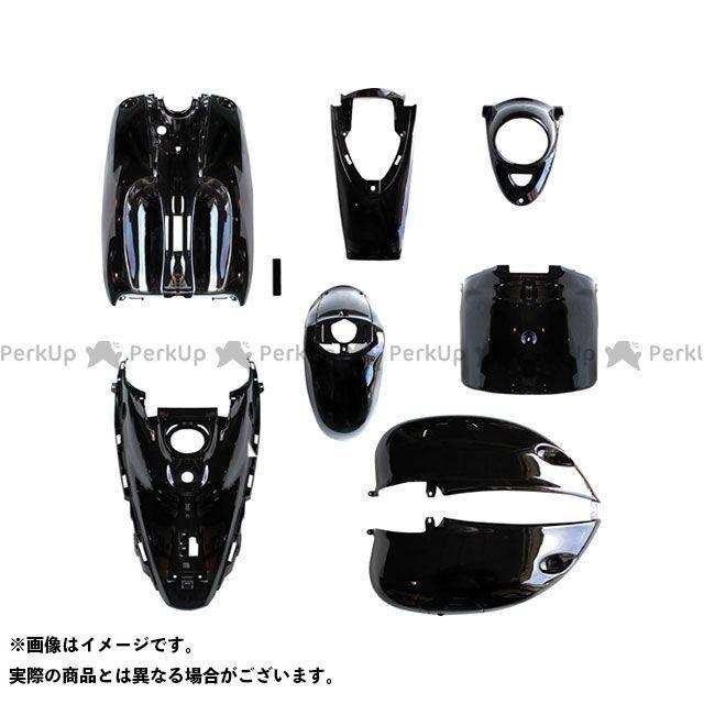 送料無料 バイクブロスバリュー ビーノ 外装セット ビーノ 5AU 外装10点セット 高品質タイプ ブラック