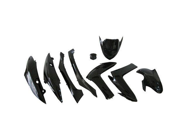 送料無料 バイクブロスバリュー マジェスティS 外装セット マジェスティS XC155 外装9点セット ブラック