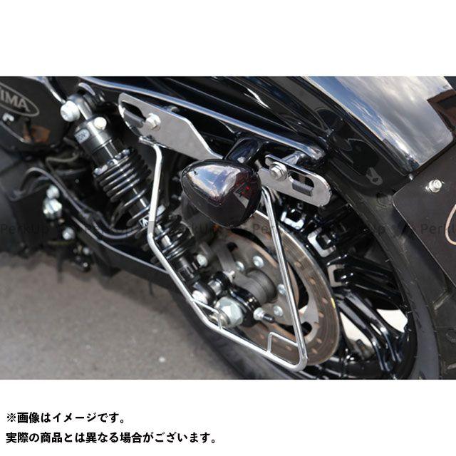 【エントリーで最大P23倍】キジマ サドルバッグガード カラー:クロームメッキ タイプ:左側用 KIJIMA
