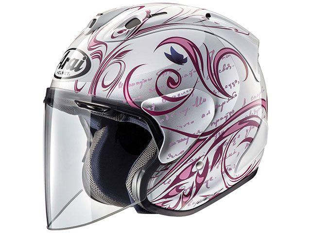 送料無料 アライ ヘルメット Arai ジェットヘルメット SZ-Ram4X STYLE(SZ-ラム4X・スタイル) ピンク 59-60cm