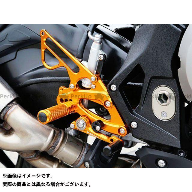 ベビーフェイス S1000RR バックステップキット カラー:ゴールド BABYFACE