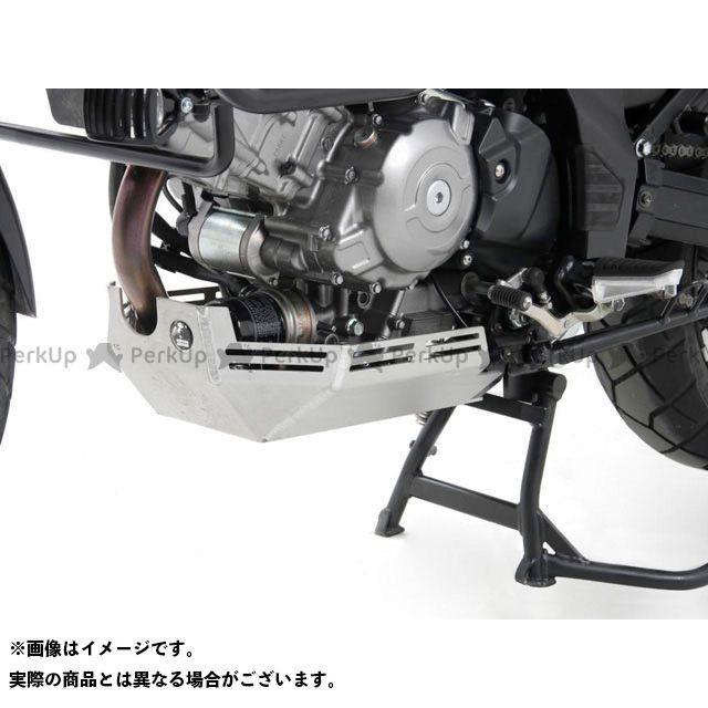 ヘプコアンドベッカー Vストローム650 エンジンアンダーガード カラー:アルミニウム HEPCO&BECKER