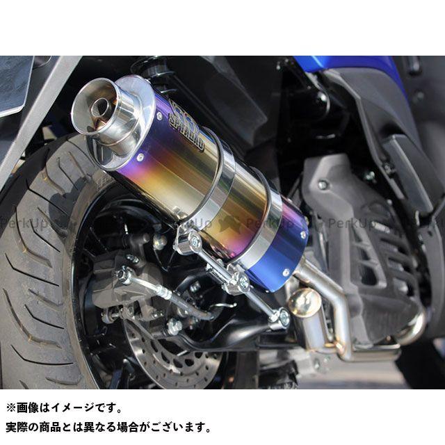SP忠男 トリシティ155 POWER BOX FULL SilentVersion TitanBlue スペシャルパーツタダオ