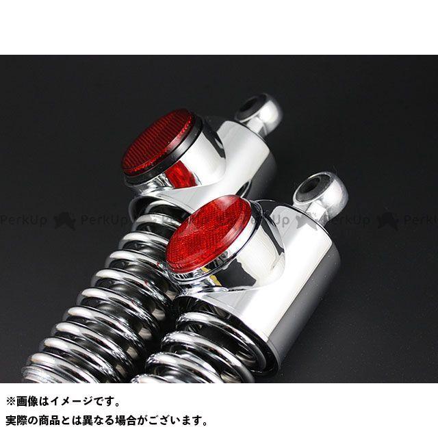 【エントリーで更にP5倍】PMC Z1・900スーパー4 Z2・750ロードスター 強化型 リアショック スプリング:クロームメッキ カラー:レッド ピーエムシー