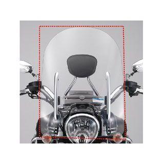 ワイズギア XV1900A スクリーン関連パーツ ウインドシールド T(大型) M(中型)
