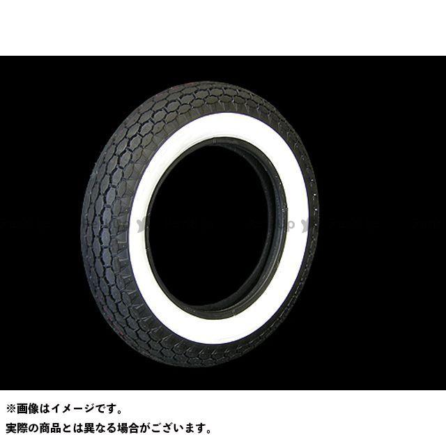 【エントリーで最大P21倍】コッカータイヤ ハーレー汎用 ベック 5.00-16タイヤ 2inホワイトウォール COKER TIRE