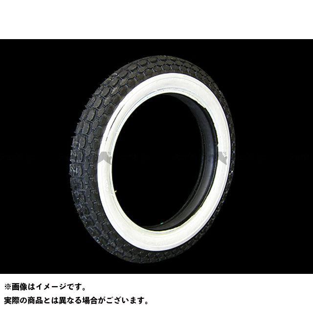 コッカータイヤ ハーレー汎用 ベック 4.00-18タイヤ 1-3/4inホワイトウォール COKER TIRE