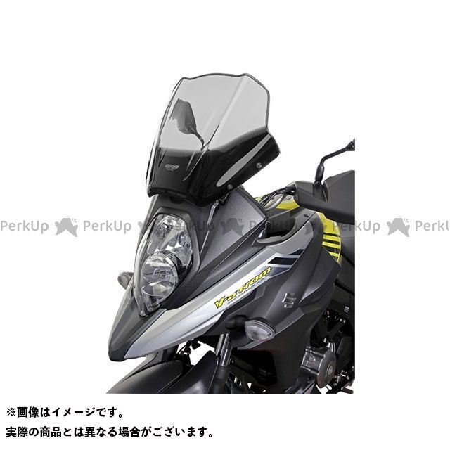 MRA Vストローム650 Vストローム650XT スクリーン ツーリング カラー:ブラック エムアールエー