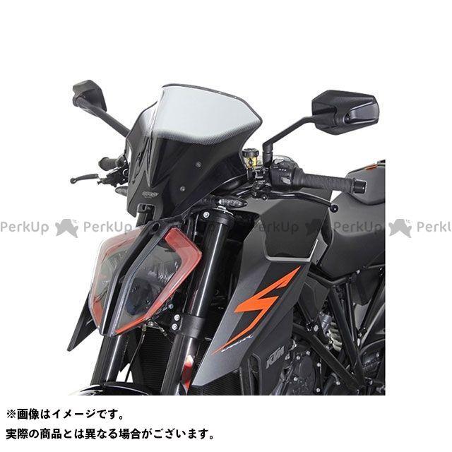 MRA 1290スーパーデュークR スクリーン レーシング カラー:クリア エムアールエー