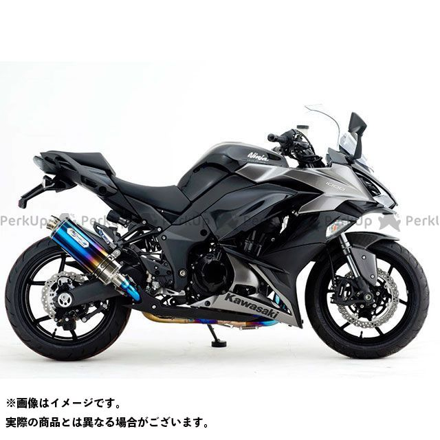 ノジマ ニンジャ1000・Z1000SX HEAT-TITAN TWIN TYPE-SC NOJIMA