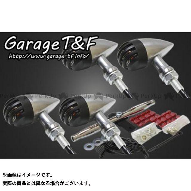 ガレージT&F グラストラッカー グラストラッカービッグボーイ バードゲージウィンカータイプ2 ダークレンズ仕様 キット ウィンカー:ポリッシュ ゲージ:ブラック ウィンカーステー:メッキ ガレージティーアンドエフ