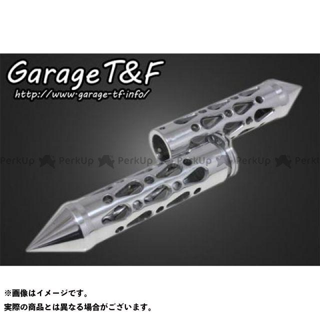 ガレージT&F コンバットグリップ(1インチ専用) カラー:ポリッシュ ガレージティーアンドエフ