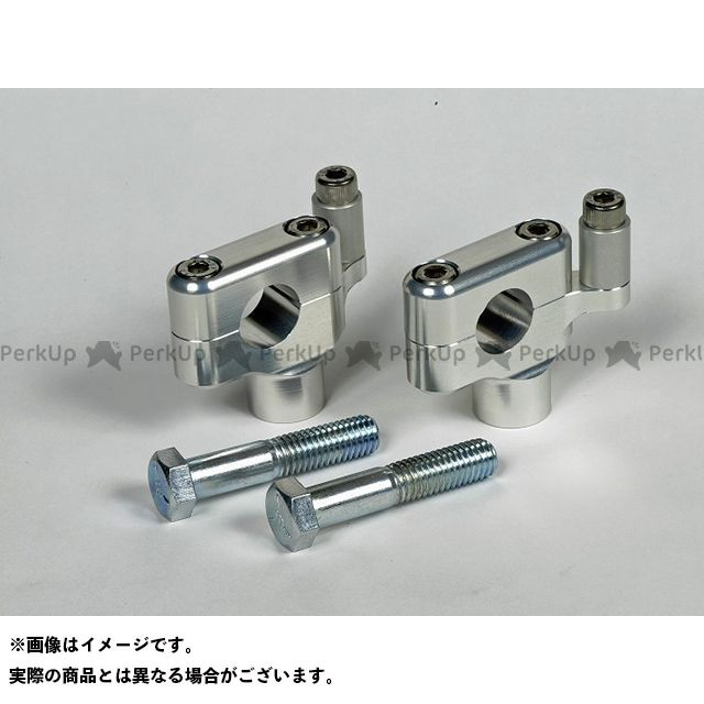 【エントリーで更にP5倍】ミスミ スポーツスターファミリー汎用 10mmオフセットライザー 40H(ボルト付) カラー:シルバー ミスミエンジニアリング