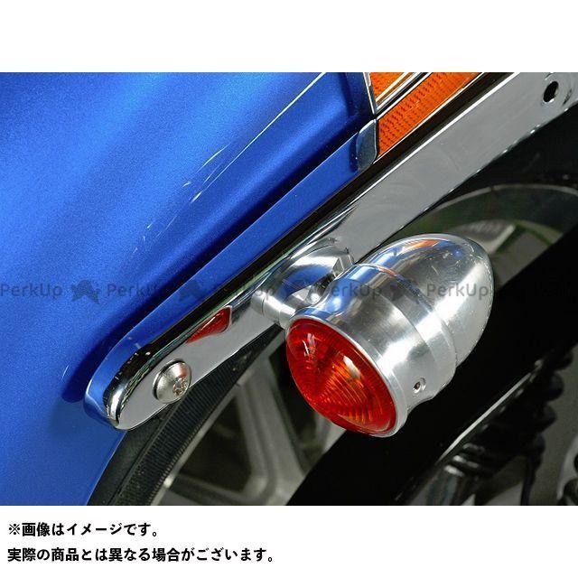 ミスミ ソフテイルファミリー汎用 ソフテイル用 ショートRウインカーステー カラー:ポリッシュ ミスミエンジニアリング