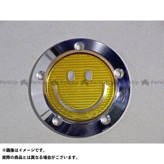 ミスミ ハーレー汎用 タイマーカバー ビレットニコ カラー:クリアイエロー タイプ:5穴 ミスミエンジニアリング
