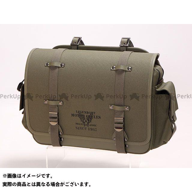 送料無料 DEGNER デグナー ツーリング用バッグ NB-132 ミリタリーテイストナイロンサドルバッグ(カーキ)