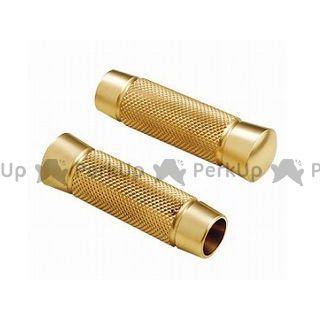 カスタムテック ハーレー汎用 グリップ関連パーツ ナールドグリップ インナースロットル用 真鍮製