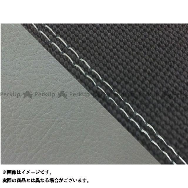 【無料雑誌付き】グロンドマン CBR1000RRファイヤーブレード CBR1000RR(SC57) 国産シートカバー 張替 スベラーヌ黒&ダーク灰 仕様:透明ダブルステッチ 適合:シングル(フロント側) Grondement