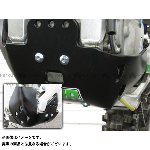 TMデザイン KX450F KX450F 12-13 EDフルカバースキッドプレート ブラック T.M.DESIGNWORKS