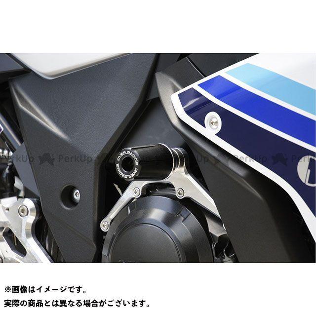 オーバーレーシング GSX250R レーシングスライダー カラー:シルバー OVER RACING