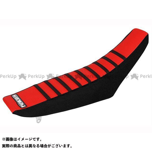 エンジョイMFG CRF50F シートカバー Honda カラー:サイド:黒/トップ:赤/リブ:黒 MOTO禅