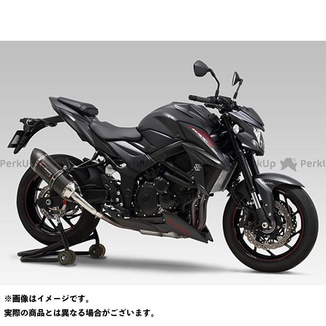 ヨシムラ GSX-S750 USヨシムラ Slip-On ALPHAサイクロン 政府認証 SCC YOSHIMURA