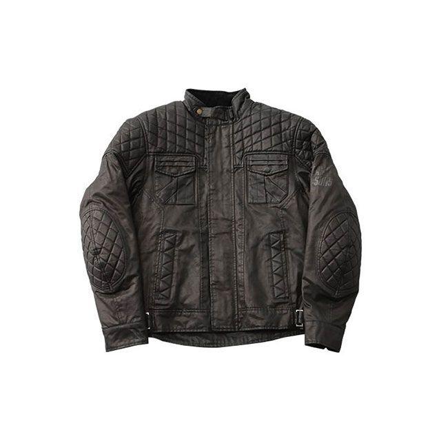 送料無料 ワイズギア Y'S GEAR ジャケット FS03 Wax cotton Jacket(ブラック) L