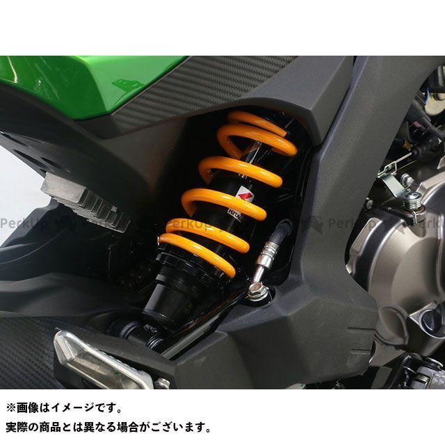 送料無料 キタコ Z125プロ リアサスペンション関連パーツ ショックアブソーバー(ブラック/イエロー)