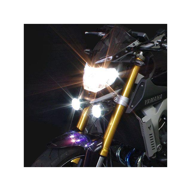 送料無料 ワイズギア MT-09 ヘッドライト・バルブ フォグランプキット