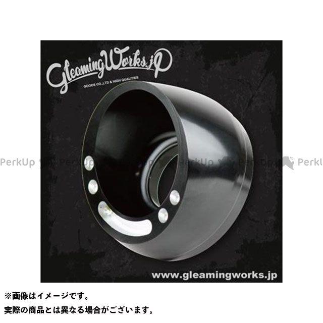 グリーミングワークス ハーレー汎用 ビレットマフラーエンド フレア H2 GLEAMING WORKS