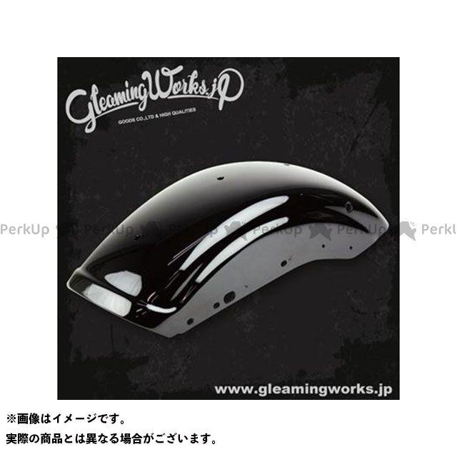 グリーミングワークス ショートリブフェンダー XL(04-06/10-17)ブラック塗装仕上 GLEAMING WORKS