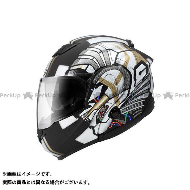 ZEALOT ジーロット システムヘルメット(フリップアップ) ZG SystemTourer(ZG システムツアラー) GRAPHIC マットブラック/シルバー S/55-56cm