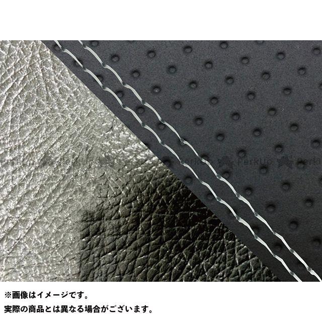 【無料雑誌付き】グロンドマン FZ1フェザー(FZ-1S) FZ1 フェザー(10年~)シングル(フロント側) グロンドマン国産シートカバー 張替(エンボス黒・黒) 仕様:透明ダブルステッチ Grondement