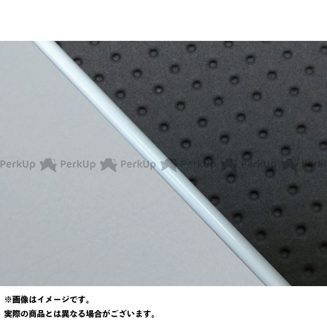 グロンドマン W650 W650(99年 EJ650A1/C1) グロンドマン国産シートカバー 張替(エンボス黒/グレーライン) 仕様:白パイピング Grondement