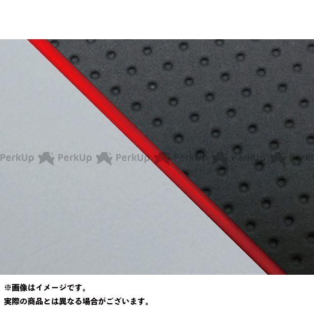 グロンドマン W650 W650(99年 EJ650A1/C1) グロンドマン国産シートカバー 張替(エンボス黒/グレーライン) 仕様:赤パイピング Grondement
