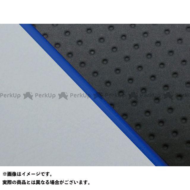 グロンドマン W650 W650(99年 EJ650A1/C1) グロンドマン国産シートカバー 張替(エンボス黒/グレーライン) 仕様:青パイピング Grondement