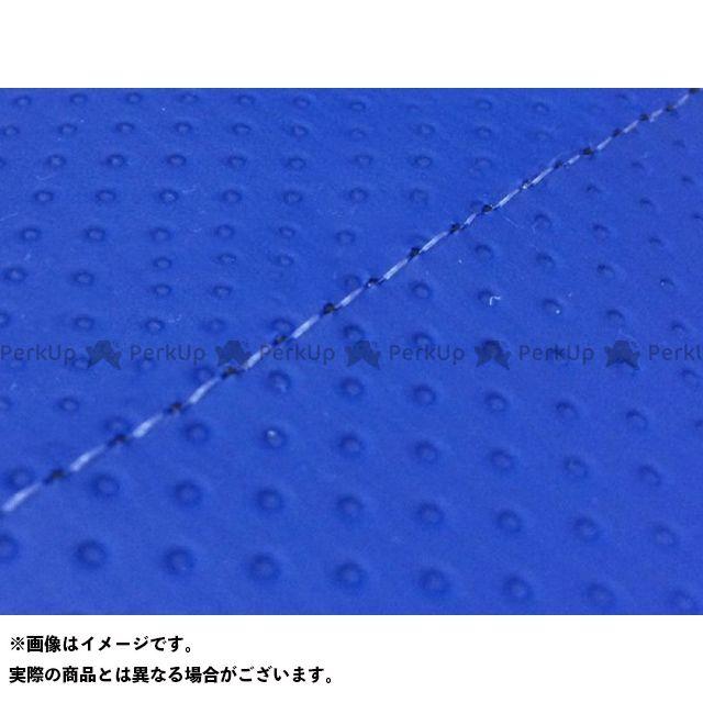 【エントリーで最大P23倍】グロンドマン W650 W650(99年 EJ650A1/C1) グロンドマン国産シートカバー 張替(エンボスブルー) 仕様:透明ステッチ Grondement