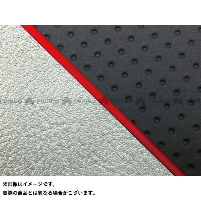 グロンドマン W650 W650(99年 EJ650A1/C1) グロンドマン国産シートカバー 張替(エンボス黒/シルバーライン) 仕様:赤パイピング Grondement
