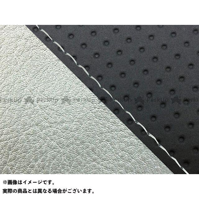 グロンドマン W650 W650(99年 EJ650A1/C1) グロンドマン国産シートカバー 張替(エンボス黒/シルバーライン) 仕様:透明ステッチ Grondement