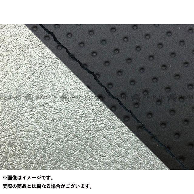グロンドマン W650 W650(99年 EJ650A1/C1) グロンドマン国産シートカバー 張替(エンボス黒/シルバーライン) 仕様:黒ステッチ Grondement