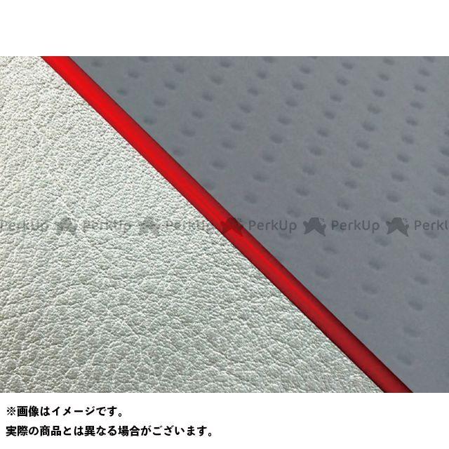 グロンドマン W650 W650(99年 EJ650A1/C1) グロンドマン国産シートカバー 張替(エンボスグレー/シルバーライン) 仕様:赤パイピング Grondement