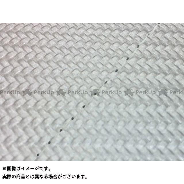 グロンドマン リード80SS リード80SS グロンドマン国産シートカバー 張替(カーボンシルバー) 仕様:透明ステッチ Grondement