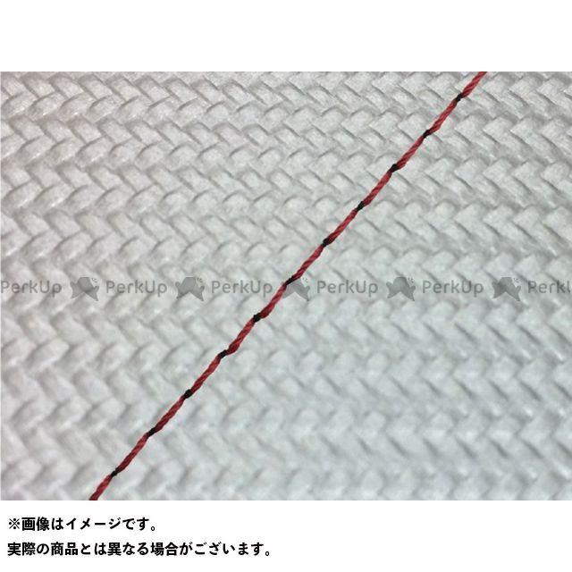 グロンドマン リード80SS リード80SS グロンドマン国産シートカバー 張替(カーボンシルバー) 仕様:赤ステッチ Grondement