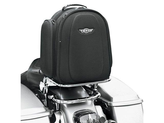 送料無料 T-BAGS ハーレー汎用 ツーリング用バッグ VEGAS・シーシーバーバック